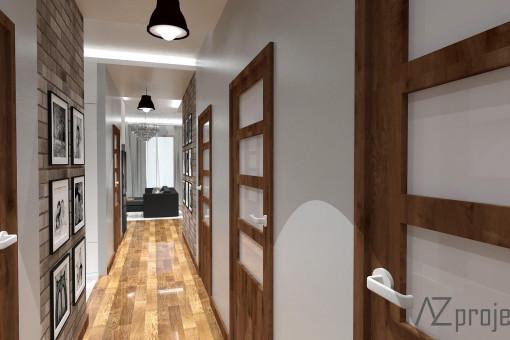 AZ projekty Apartament Mokotów 10