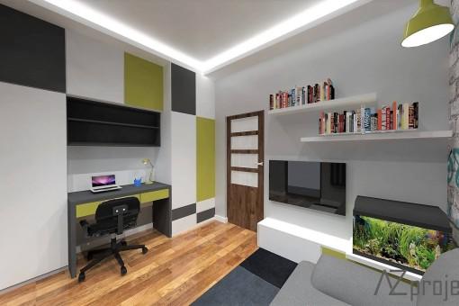 AZ projekty Apartament Mokotów 11