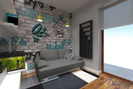 AZ projekty Apartament Mokotów 12