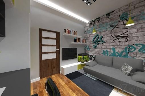 AZ projekty Apartament Mokotów 13