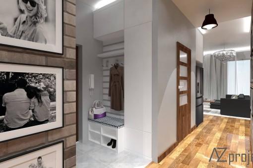 AZ projekty Apartament Mokotów 14