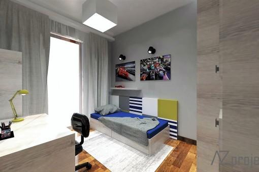 AZ projekty Apartament Mokotów 16