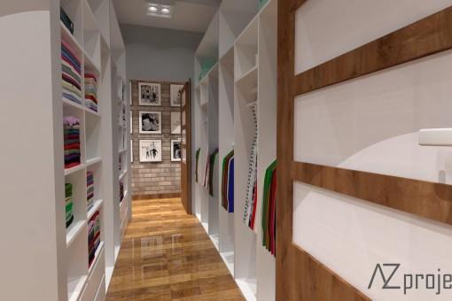 AZ projekty Apartament Mokotów 7