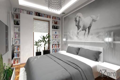 AZ projekty Apartament Mokotów 8