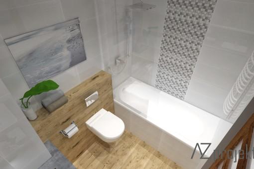 azprojekty łazienka 1