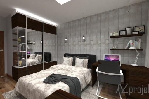 azprojekty sypialnia 2